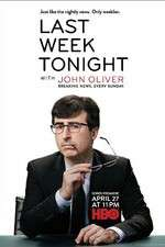last week tonight with john oliver tv poster