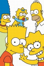 the simpsons tv poster