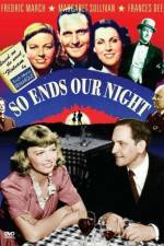 Watch So Ends Our Night Online Megashare